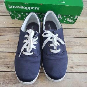 Grasshoppers janey II navy blue shoe
